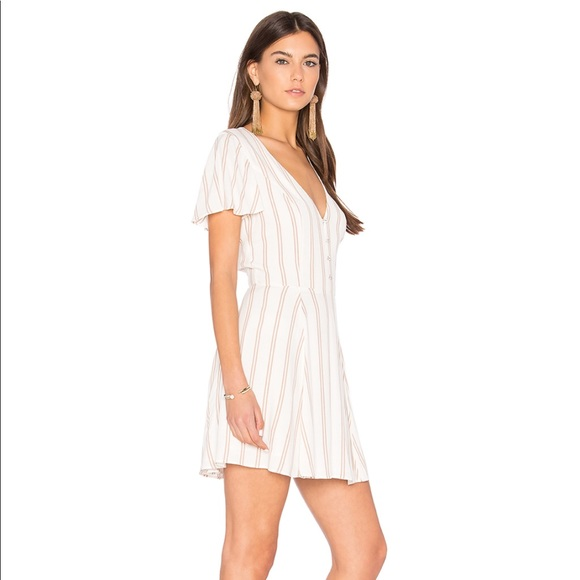 Ryan Dress in White. - size M (also in S,XS) Privacy Please